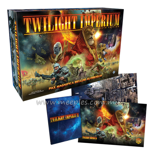 Twilight Imperium (Fourth Edition) + Limited Pre-Order Promos