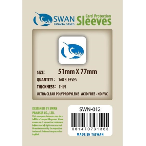 Sleeves 51mm x 77mm (thin)