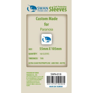 Sleeves 55mm x 105mm (thin)