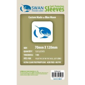 Sleeves 70mm x 120mm (thin)
