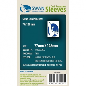 Sleeves 77mm x 128mm (thin)