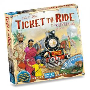 Ticket to Ride Map Collection: India
