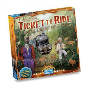 Ticket to Ride Map Collection: Africa