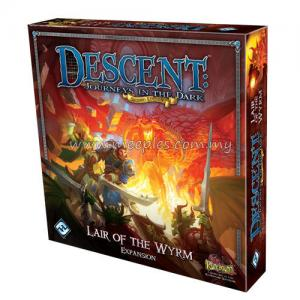 Descent: Journeys in the Dark (Second Edition) - Lair of the Wyrm