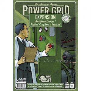 Power Grid: Northern Europe/United Kingdom & Ireland