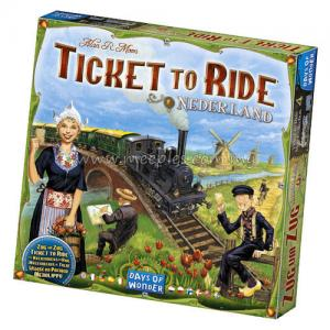Ticket to Ride Map Collection: Nederland