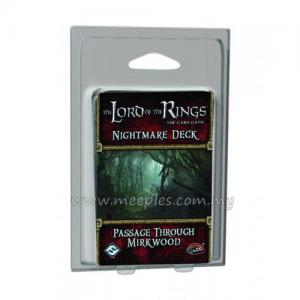 The Lord of the Rings LCG: Nightmare Deck: Passage Through Mirkwood