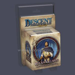 Descent: Journeys in the Dark (Second Edition) - Rylan Olliven Lieutenant Pack