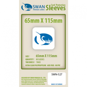 Sleeves 65mm x 115mm (thick)