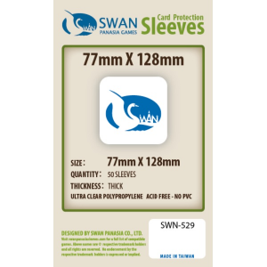 Sleeves 77mm x 128mm (thick)