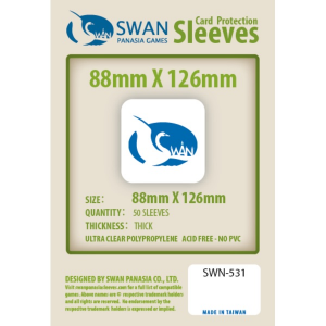 Sleeves 88mm x 126mm (thick)