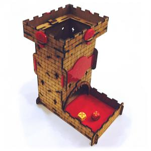 Meeples Castle Dice Tower