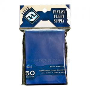 FFG Solid-Colored Card Game Sleeves (Blue)