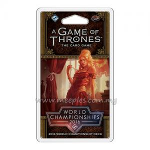 A Game of Thrones: The Card Game (Second Edition) - 2016 World Championship Deck
