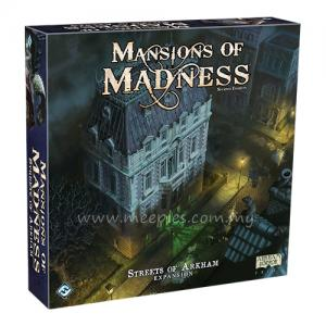 Mansions of Madness (Second Edition) - Streets of Arkham