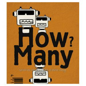 How Many? Robot Orange