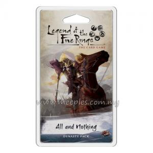 Legend of the Five Rings: The Card Game - All and Nothing