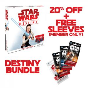 Star Wars: Destiny - Two-Player Game (Starter Set) + 10 Booster Packs (20%)