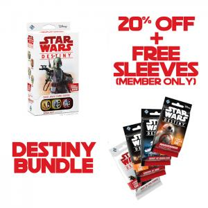 Star Wars: Destiny - Boba Fett Starter Set + 10 Booster Packs (20%)