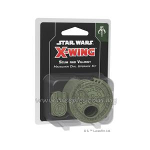Star Wars: X-Wing (2nd Edition) - Scum and Villainy Maneuver Dial Upgrade Kit