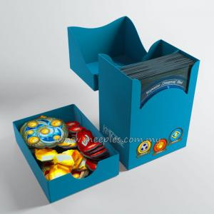 KeyForge: Gemini Deck Box - Blue