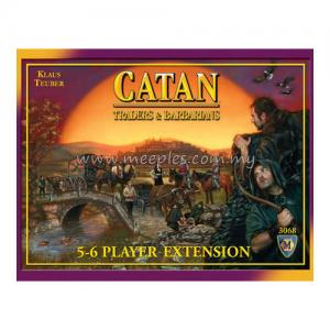 Catan: Traders & Barbarians 5-6 Player Extension (4th Edition)