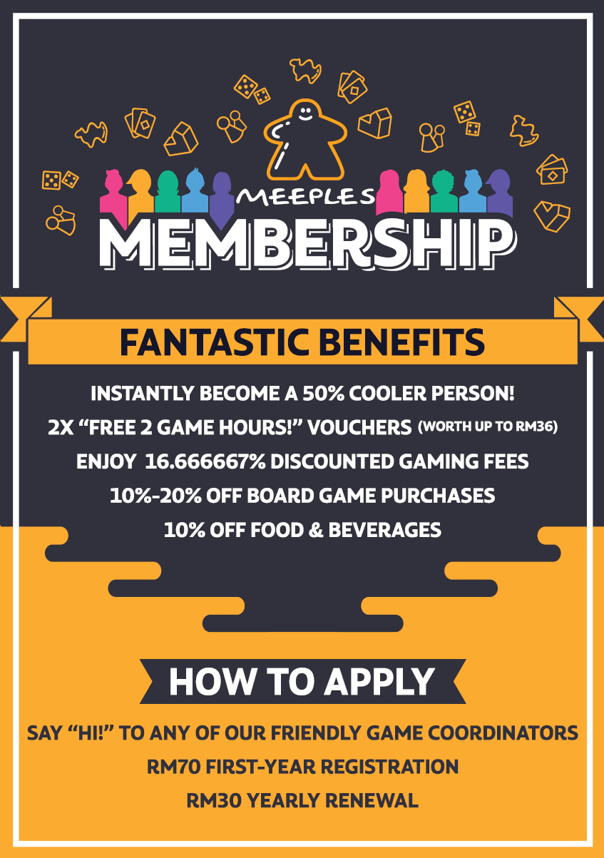 Meeples Membership Card